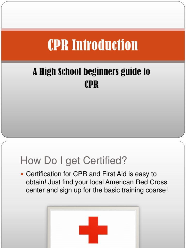 Cpr And First Aid Power Point Cardiopulmonary Resuscitation