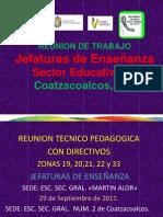 Reunion Academica Con Directivos Sector 07 Septiembre