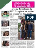 Curso de jornalismo da PUC-Campinas é o melhor do interior de São Paulo