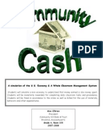 community cash 103 economic management system