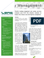 Case Study - Facility Management - CBRE