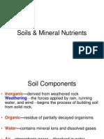 BIOL 100C Soil & Mineral Nutrients