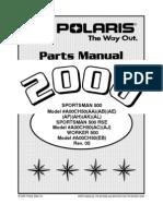 ATV Polaris 2000 Parts