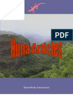 Huna Articles
