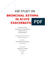 Bronchial Asthma in AE