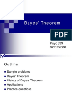 Bayes Lecture