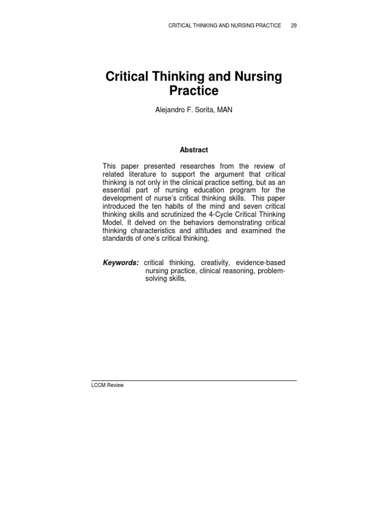logic and critical thinking syllabus Philosophy 125 critical thinking think: critical thinking and logical skills for everyday life syllabus, introduction, chapter 1: critical thinking.