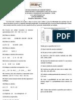 Lista de Exercicio - Matemática - 7º Ano 2 bimestre