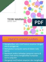Teori Warna Asas dari Cg. Azham