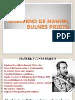 Gobierno de Manuel Bulnes Prieto