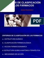 Clasificacion de Los Farmacos