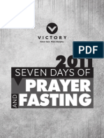 Prayer and Fasting 2011 Victory
