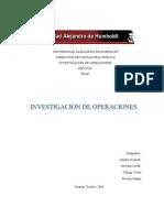 Trabajo Investigacion de Operaciones