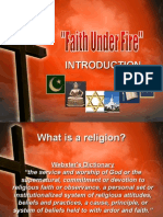 Faith Under Fire Introduction