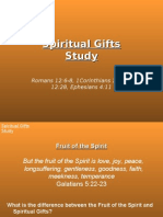 Ministry and Manifestation Gifts