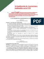 El ABC de la legalización de Asociaciones Estudiantiles en la UES