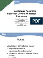 Bioburden FDA Hughes, Patricia