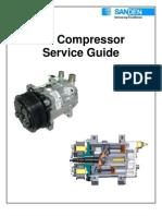 Compresor AC SanDen Service Guide Rev.2