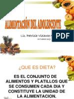 Alimentacion Del Lic Patricia Violante