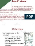 Collection Tree Protocol Presentation