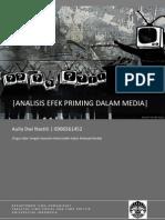 Analisis Efek Priming Media