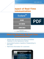 The Impact of Realtime Communication in Traffic - by Ecolane