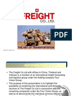 The Freight and FV Group Presentation 2009