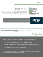 Overdrive Digital Library Power Point