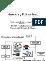 Clase Herencia y Polimorfismo