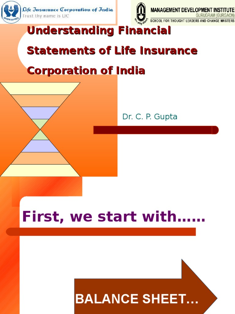 Understanding Financial Statements of Life Insurance ...