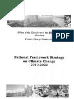 National Framework Strategy on Climate Change 2010 - 2012