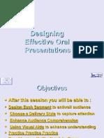 Designing Oral Presentation