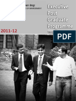IIM B - One Year MBA( EPGP ) Introduction
