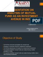 Presentation on Analysis of Mutual Fund as An