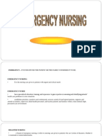 Emergency Nursing