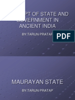 f5edaconcept of State and Government in Ancient India.
