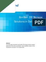 EonStor DS Solutions in Data Center