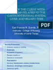 Gastro, Liver and Biliary System