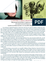 L'Obscurantisme de Michel Onfray