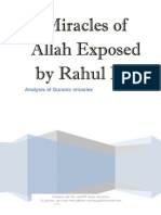 Miracles of Allah Exposed