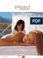 Wellnesshotel Lindenhof in Südtirol - Beauty Katalog