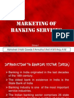 Marketing of Banking Services-group 1