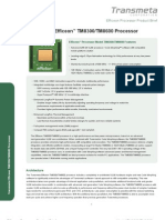 Efficeon Processor