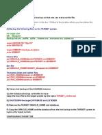 Clone Database