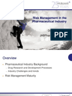 Risk Management in the Pharmaceutical Industry_John Bennett