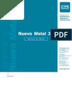 Nuevo Metal 3D - Memoria de Clculo