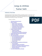 IT Energy&Utilities Tushar Seth