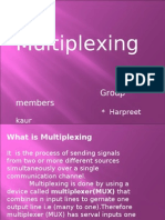Types of Multiplexing