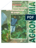 Manejo y conservacion de germoplasma de papa (en Bolivia)