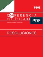 Resoluciones Conferencia Política 2011